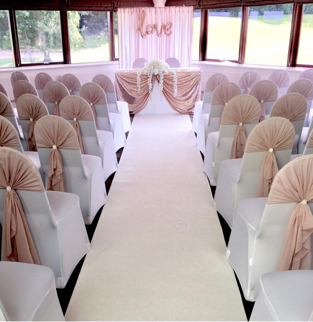 Wedding  chair hoods
