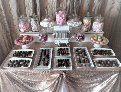 Sweet buffet table