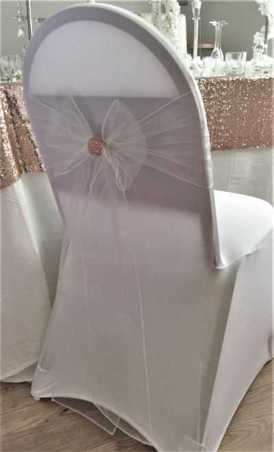 Wedding chair brooch